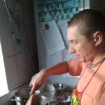 Начались кулинарные курсы на кухне Шри Шри Радха Говинда