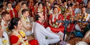 ФЕСТИВАЛЬ-РЕТРИТ. 25 мая. Виваха-ягья в храме Шри Шри Радха Говинды!