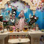 Приветствие Божеств, Даршан Шри Шри Радха Говинды. 10.06.2021