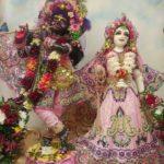 Приветствие Божеств, Даршан Шри Шри Радха Говинды. 08.06.2021