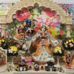 Шикша - принятия обетов в Храме Шри Шри Радха Говинды. 14.02.2021.