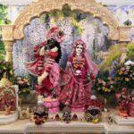 Приветствие Божеств, Даршан Шри Шри Радха Говинды. 15.06.2021