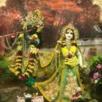 Приветствие Божеств, Даршан Шри Шри Радха Говинды. 14.06.2021